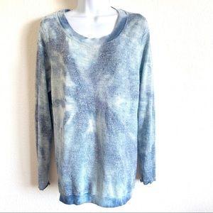 Hardtail | tie dye twist back sweater